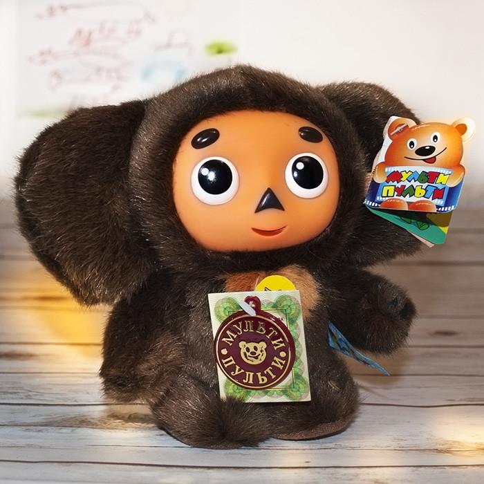 "Cheburashka toy - plush Russian-speaking stuffed toy 17cm (6.7"")"