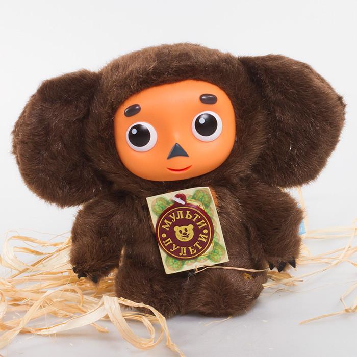 "Talking Cheburashka Doll - Russian Speaking Toy 25cm (9.8"")"