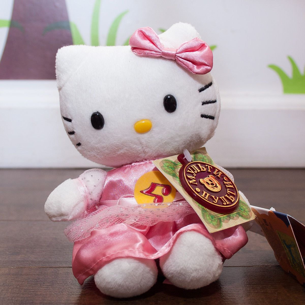 HELLO KITTY - stuffed speaking russian toy