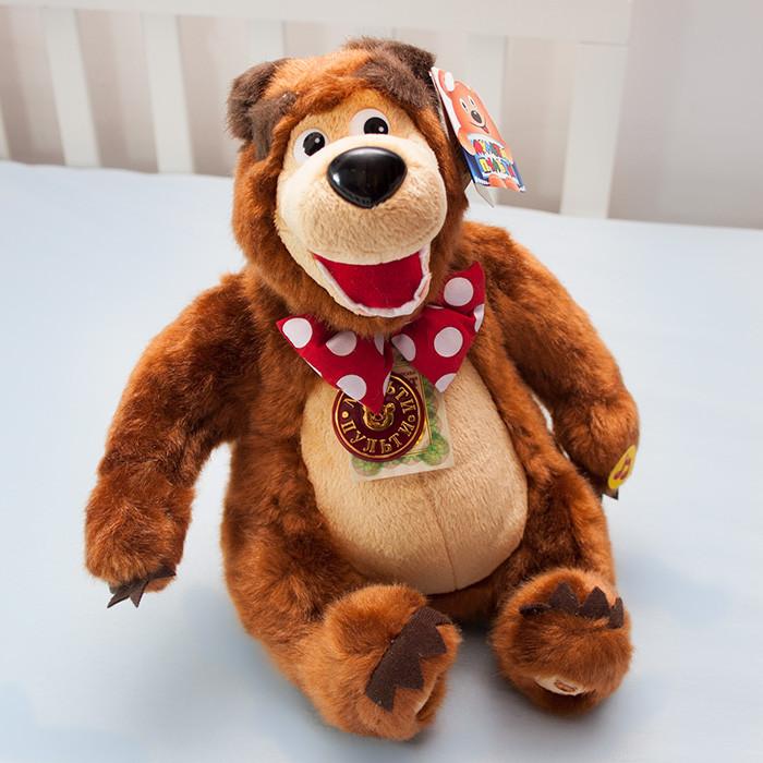 Мишка из мультфильма Маша и Медведь