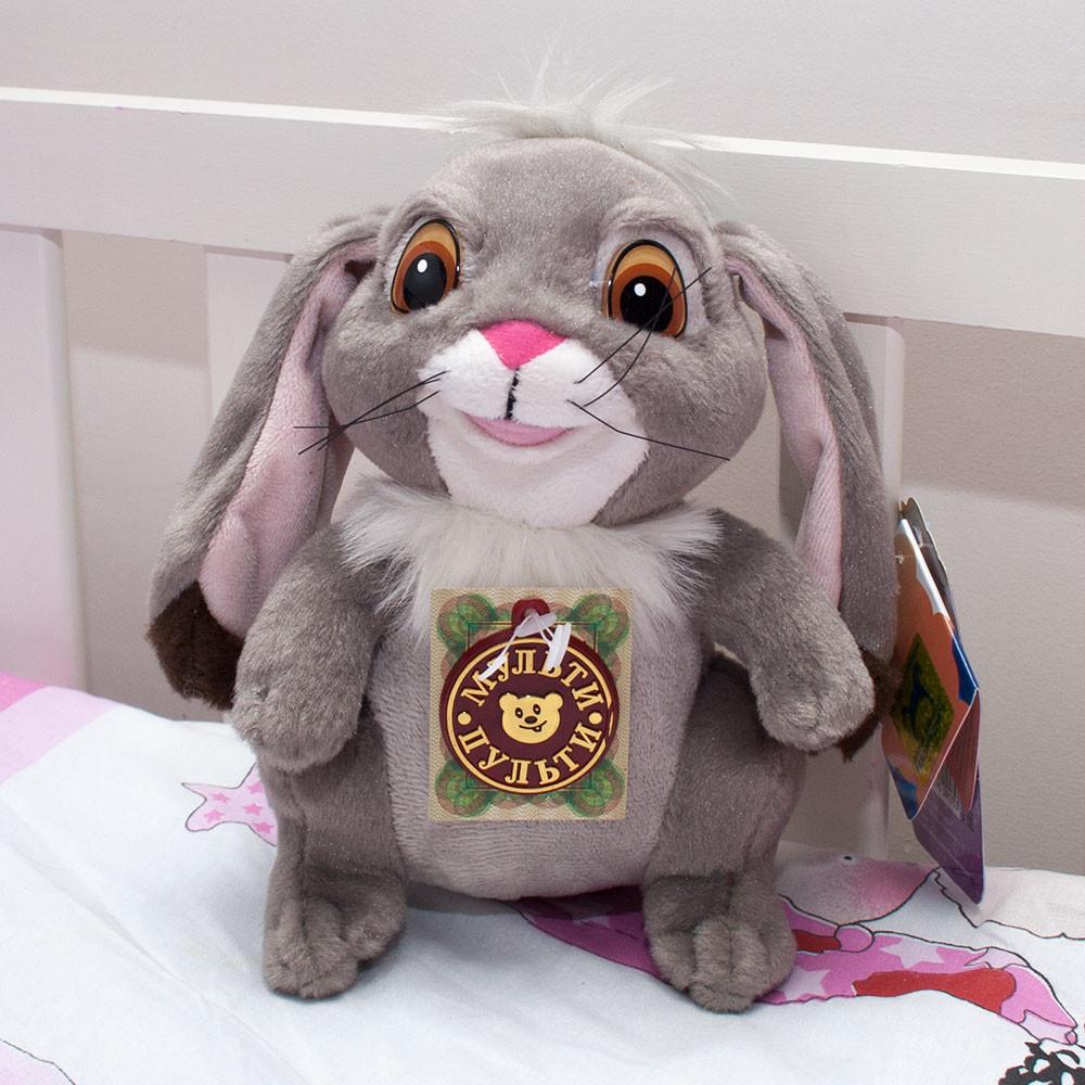 "Rabbit Plush Russian Speaking Toy 18cm (7.1"")"