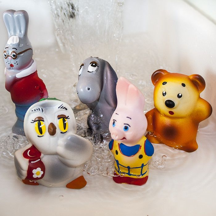 Russian Winnie the Pooh and his friends : Bath toys